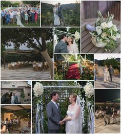 Hotel wedding - ceremony by the pool and reception under a fairy lit pergola .Link in description. Hotel Wedding Venues, Wedding Ceremony, Reception, Crete, Fairy Lights, Real Weddings, Wedding Planner, Pergola, Villa