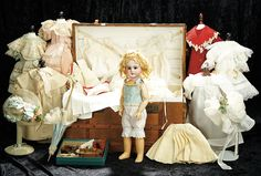"""Soirée"" Marquis Antique Doll Auction taking place May 14th in Las Vegas For the…"