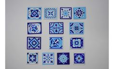 Bored of the plain ol' frames! Reinvent those using small wooden pieces and Fevicryl Colours. This Talavera frame is sure to catch the eyes of many! Ethnic Home Decor, Hobby Ideas, Wooden Diy, Tile, Gallery Wall, Colours, Ceramics, Frame, Ceramica