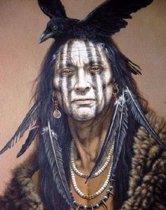 WARRIOR ! Painting that inspired Johnny Depp as tanto