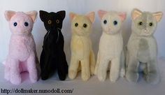 Simple Cat making - free pattern and instructions