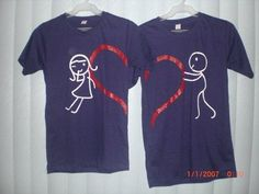 Matching Shirts for Couples where to buy   just had to get that off my chest lol it was just so awkward to see ...