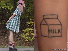 melanie-martinez-milk-leg-tattoo