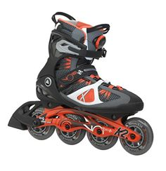 K2 Skate Mens VO2 90 Boa Inline Skates BlackOrange 85 ** See this great product. (Amazon affiliate link)