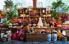 New diy wedding reception buffet Ideas Best Wedding Guest Dresses, Diy Wedding Reception, Hotel Flower Arrangements, Hotel Flowers, Church Ceremony, Quinceanera Invitations, Party Stores, Wedding Flowers, Dream Wedding