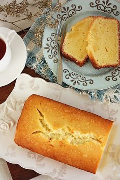 cream cheese pound cake ♥