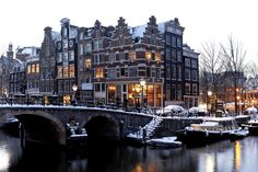 Flight to Amsterdam is booked! So excited!
