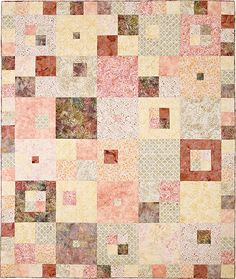 Pattern - Hip to be Square quilt pattern from Busy Bee Designs