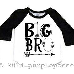 Big Brother Arrow Shirt Raglan Big Brother Shirt Hipster Big Brother Baby and Toddler Big Brother Shirt Big Bro Shirt Aztec Hipster by PurplePossom on Etsy https://www.etsy.com/listing/216947814/big-brother-arrow-shirt-raglan-big