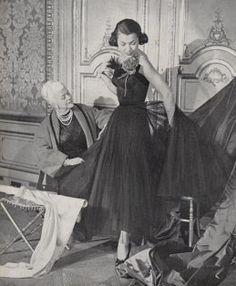 1940s nina ricci dress - Google Search
