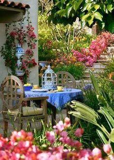 5 Marvelous Useful Ideas: Backyard Garden On A Budget Rocks patio garden ideas fence.Garden Ideas New Zealand Colour simple garden ideas australia. Outdoor Rooms, Outdoor Gardens, Outdoor Living, Outdoor Kitchens, Outdoor Seating, Beautiful Gardens, Beautiful Flowers, Beautiful Pictures, Jardin Decor
