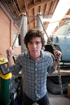 Behind the Scenes w/ Charlie McDermott @www.latfthemagazine.com  Issue #17 Photo cred: Jeff Carrillo
