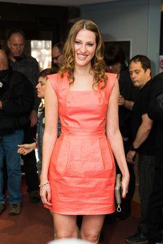 India Desjardins au Gala des Olivier avec la Donna dress
