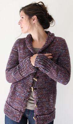 2e093742b5b3d8 Campus Jacket pattern by Amy Christoffers. Knitting YarnKnitting SweatersFall  ...