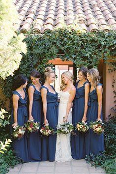 navy bridesmaid dress  brides of adelaide magazine