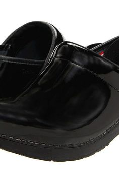 Sanita Professional Patent (Black Patent) Women's Clog Shoes - Sanita, Professional Patent, 457406W, Footwear Closed Clog, Clog, Closed Footwear, Footwear, Shoes, Gift - Outfit Ideas And Street Style 2017