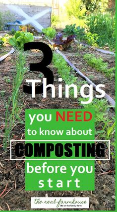 Great advice on what you need to know before you start composting. 3 mistakes to avoid in your compost pile