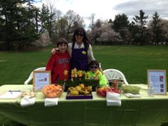 Celebrating Earth Day with Nature's fruits and veggies at the Nassau County Museum of Art! Thanks to my amazing helpers Leo and Ben! Earth day, nature's food, family fun.