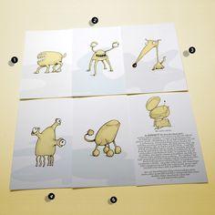 BUBROKUTÜ Postkarten Set 1 - Monstertüte von Die Bubrokutü auf DaWanda.com