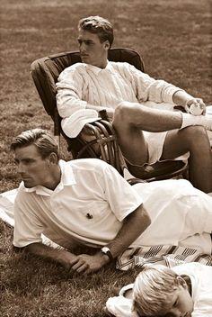 Andrew, Polo RL Summer Whites, (Bon perfection, the same circa . X ღɱɧღ Ralph Lauren Style, Polo Ralph Lauren, Preppy Mens Fashion, Preppy Style Men, Preppy Boys, Ivy League Style, Bcbg, Le Tennis, Ivy Style