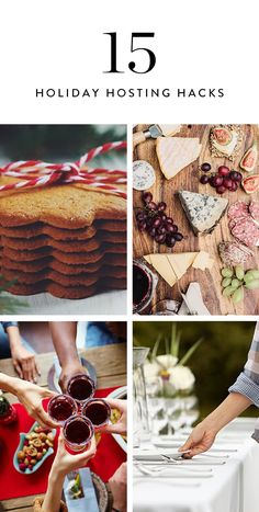 With fetes on the books from now through the New Year, it's easy to blend into the cheese-plated masses. The cure for the common holiday party, you ask? Ample refreshments, charming details and, most important, a happy hostess. Preparation makes perfect, so here are 15 tips to make yours the best damn shindig of 2016.