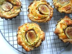 goat cheese and fig tarts ......Stacey Snacks