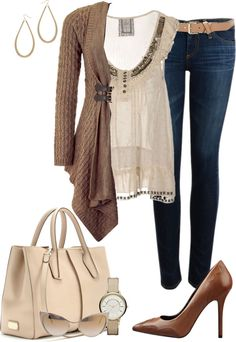"""""""Contest: Cardigans"""" by milladeyn ❤ liked on Polyvore"""