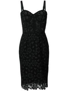 Dolce & Gabbana vestido de encaje ajustado