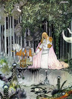 kay nielsen_norwegian tales_lassy and her godmother03.jpg (1154×1600)