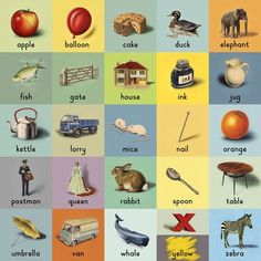 Friday triviality, or maybe not: The Alphabet Series	 © Ladybird Books #vintage