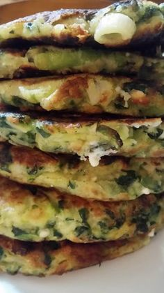 Greek Recipes, Vegan Recipes, Cooking Recipes, Greek Cooking, Fast Easy Meals, Pancakes And Waffles, International Recipes, Food Design, Brunch Recipes