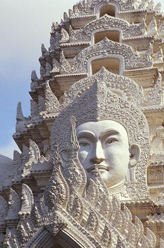 Bangkok, Wat Ratchapradt Photograph by Bill Brennan - Printscapes   Places To Visit Before You Die  #anncavittfisher #travel #travelblogger #places Laos, Thailand Travel, Asia Travel, Visit Thailand, Vacation Travel, Brunei, Places Around The World, Travel Around The World, Places To Travel