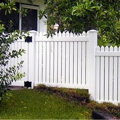 Vinyl Fence Designs To Custom Vinyl White Picket Fence By Mossy Oak Fence Like How Close Together This 82 Best Designs Images On Pinterest In 2018