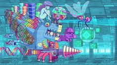 Paul Robertson, an Australia-based digital artist and animator known for his pixel art animation, has created a series of video game GIFs. Art And Illustration, Illustrations, Scott Pilgrim, Pixel Art Anime, Pixel Gif, Gif Art, Gif Animé, Pilgrim Vs The World, Animation