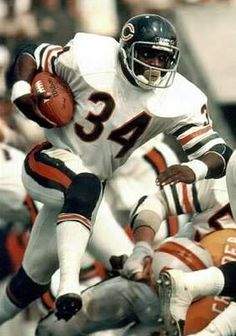 Truly a legend. My favorite football player of all time. I grew up watching him play the game and developed a great love for him and the Bears. Walter exemplifies all that an athlete should be. Humble,dedicated, loyal, a lot of todays athletes from all sports could learn a thing or two from this man.