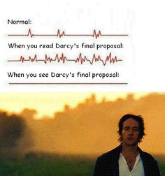 Pride and Prejudice by Jane Austen | The proposal in the book was so amazing that everything else would fall short, and the movie proposal really did.