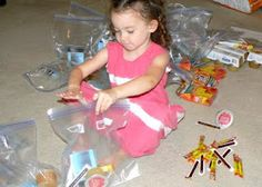Having Fun at Home: Ministry Idea for Young Children: Mercy Bags