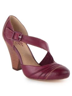 """""""Backspace"""" $75 (on sale).... I don't think I've ever seen shoes quite like this before, and I really like the style!"""