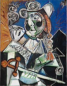Le matador (Pablo Picasso,1970, Musee National Picasso, Paris)