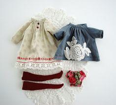 Blythe Mori OUTFIT 4 items by Miema от miema4dolls на Etsy