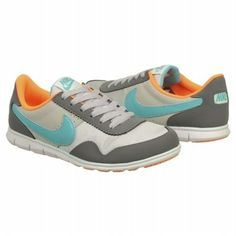 Athletics Nike Women's VICTORIA Grey/Turquoise/Orang FamousFootwear.com
