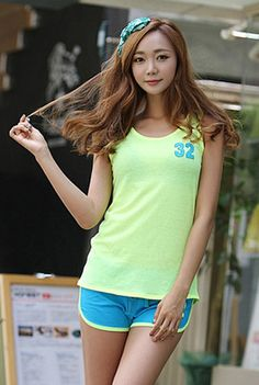 Today's Hot Pick :32 Tank Top and Shorts Set http://fashionstylep.com/SFSELFAA0001431/happy745kren/out High quality Korean fashion direct from our design studio in South Korea! We offer competitive pricing and guaranteed quality products. If you have any questions about sizing feel free to contact us any time and we can provide detailed measurements.