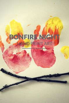 Bonfire Night hand p