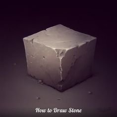 How to draw Stone!!! by Sephiroth-Art.deviantart.com on @deviantART Digital Painting Tutorials, Digital Art Tutorial, Art Tutorials, Texture Painting, Painting & Drawing, Texture Art, Illustration Techniques, Sketching Techniques, Drawing Process