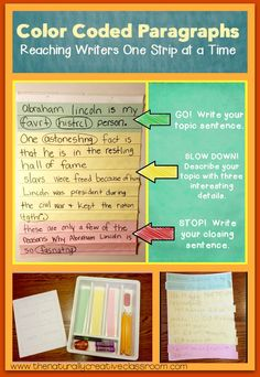 A How-To guide on using this writing technique to teach paragraph structure, the writing process and reluctant writers! Teaching Paragraphs, Expository Writing, Paragraph Writing, Teaching Writing, Informational Writing, Writing Activities, Writing Resources, Writing Ideas, How To Teach Writing