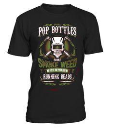 Pop bottles run beads