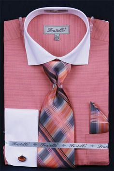 4622161493d Mens Shiny Silky Satin Dress Shirts and Ties