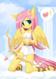 Weekly art#79 Flutterangel by HowXu on DeviantArt