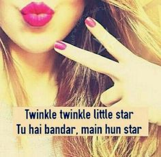 So, Are You Ready to Show Up Your Attitude? These are One Of The Best Attitude WhatsApp Status According To Your Personality. Get WhatsApp Status Attitude Here Free of Cost. Cute Quotes For Girls, Crazy Girl Quotes, Funny Girl Quotes, Cute Love Quotes, Girly Quotes, Funky Quotes, Romantic Quotes, Best Friend Quotes Funny, Funny Attitude Quotes