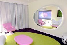 futuristic interior Loft Interior Design, Top Interior Designers, Best Interior, Exterior Design, Karim Rashid, Laura Ashley, Futuristic Interior, Futuristic Houses, Accent Wall Bedroom